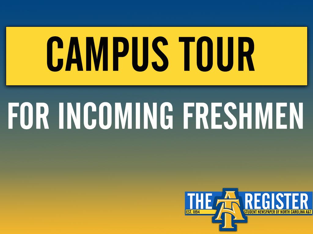 Campus Tour For Incoming Freshmen