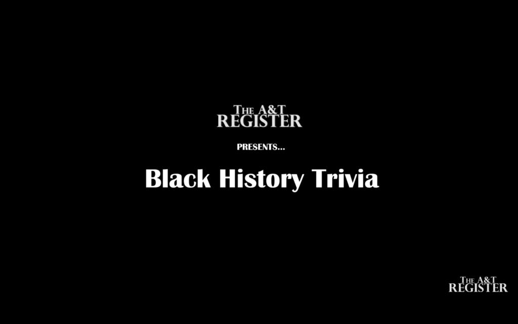 Black History Triva with Alonzo Clark