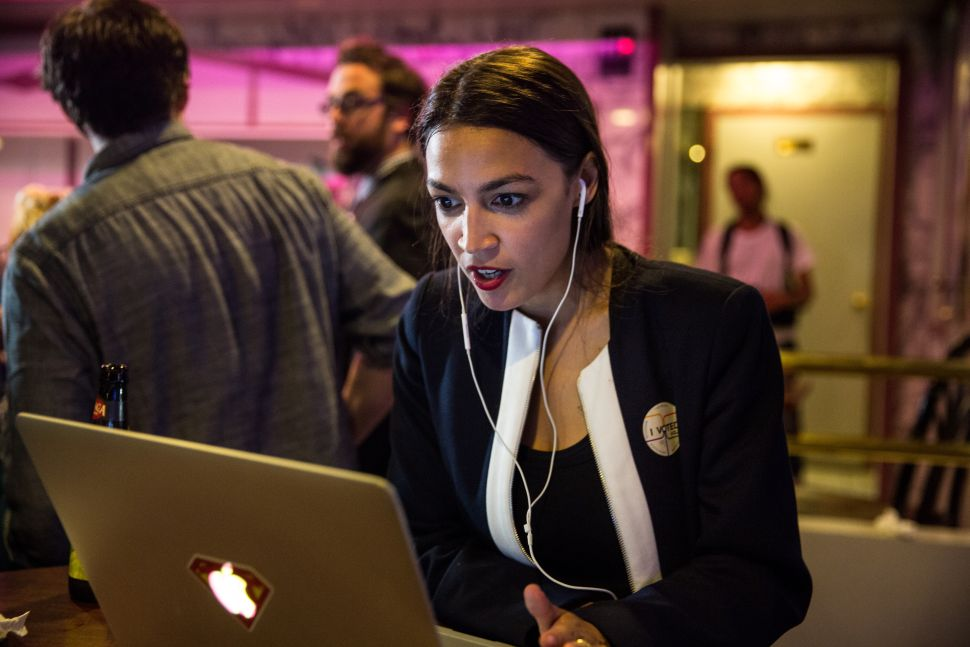 The rise of Alexandria Ocasio-Cortez