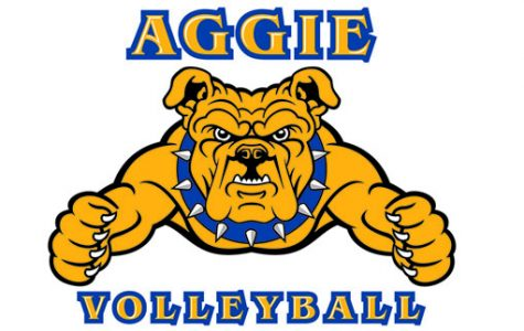 Aggies Volley The Eagles