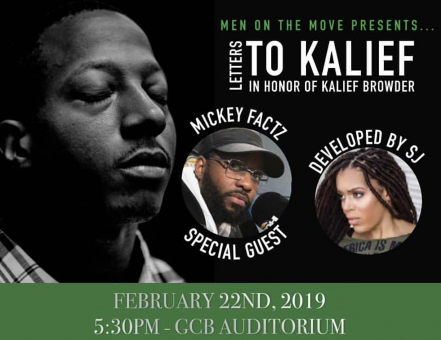 Men on the Move present: Letters to Kalief Browder