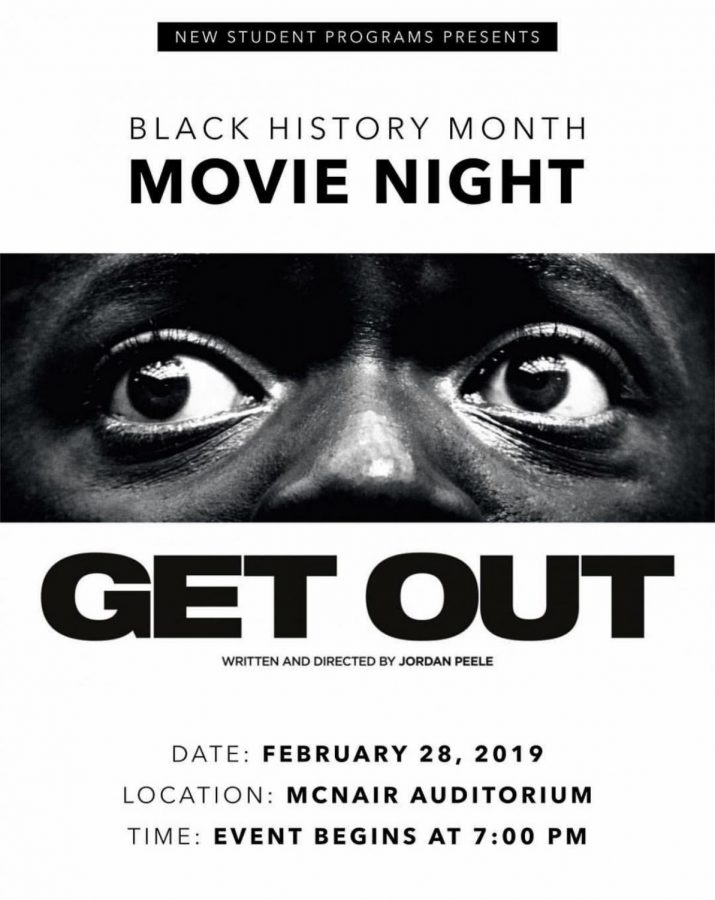 """New Student Programs presents """"Get Out"""": A Preview"""