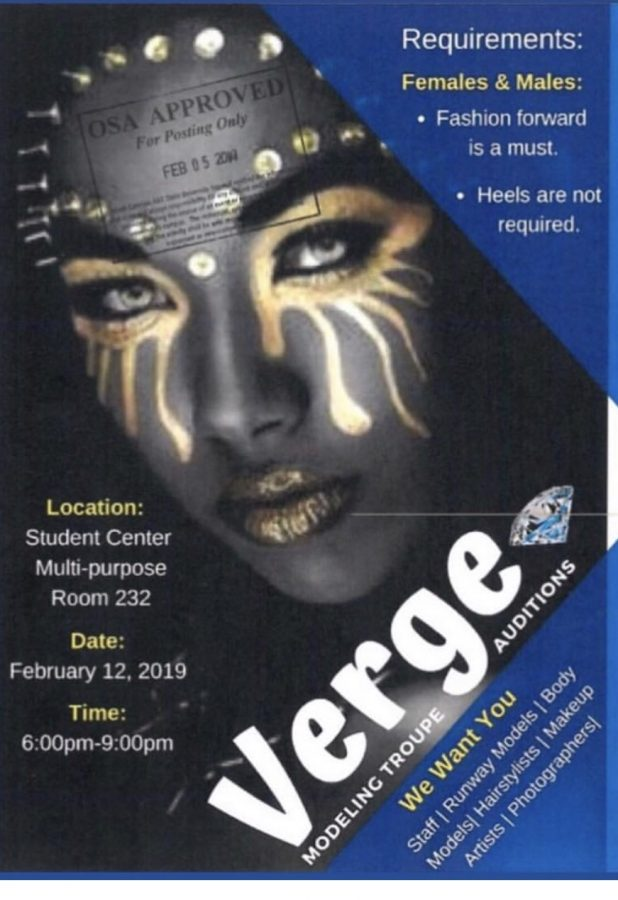 Verge Modeling Troupe prepares for upcoming auditions