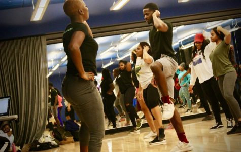 Students get fit with Party Pilates