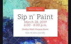 Sip n Paint with Metro Aggies