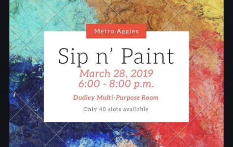 Sip n Paint with Metro Aggies