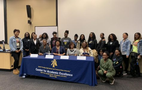 N.C. A&T alumnae hold open discussion on the power of women