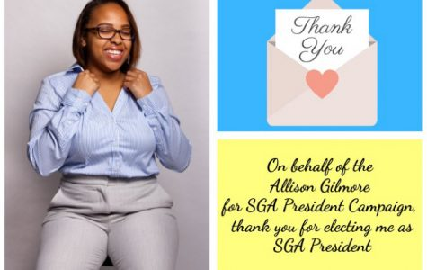 Allison Gilmore elected as 2019-2020 SGA President