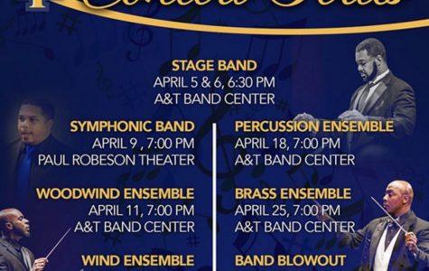 University band brass ensemble concert