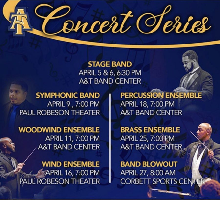 University band brass ensemble concert