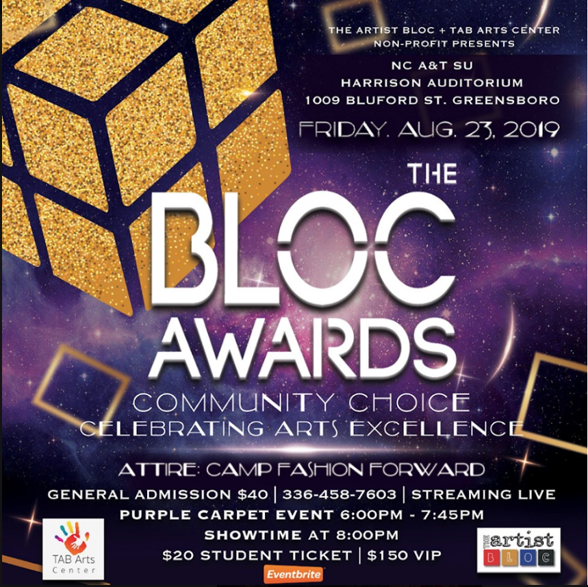 The Artist Bloc brings 2019 BLOC Awards to N.C. A&T