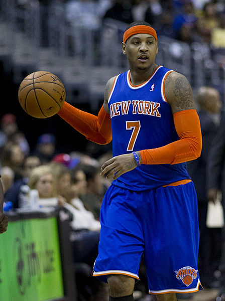 Melo added to the list of blackballed athletes