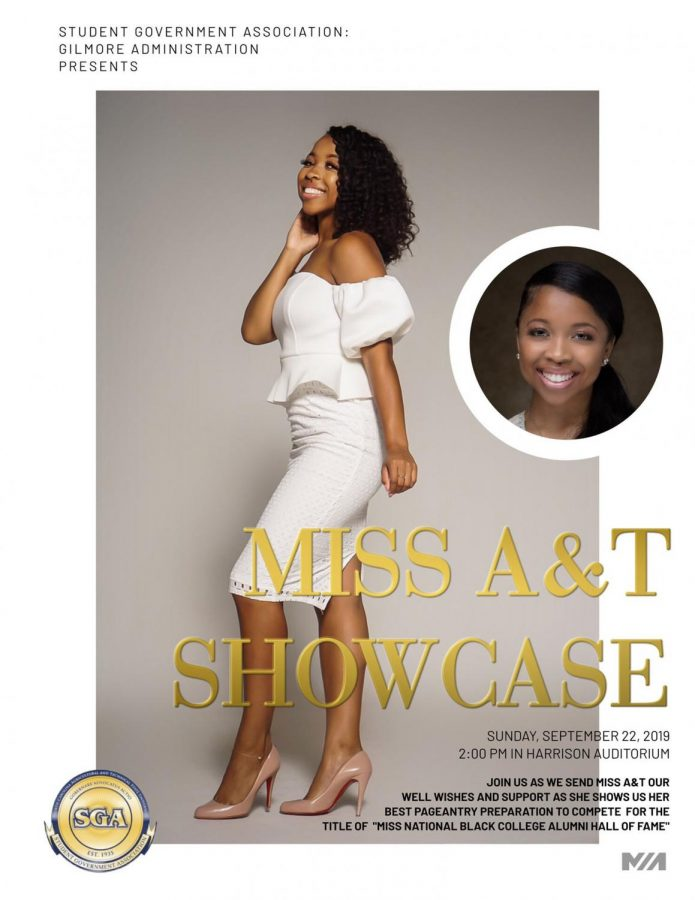 Miss N.C. A&T receives well wishes during send-off showcase