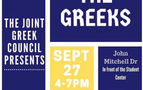 "Joint Greek Council presents ""Meet the Greeks"""