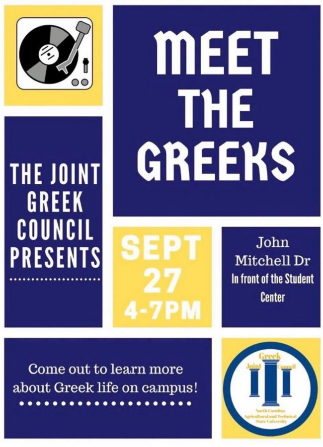 """Joint Greek Council presents """"Meet the Greeks"""""""