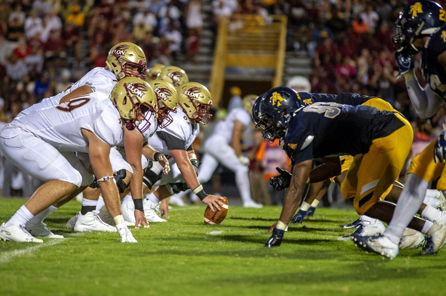 The N.C. A&T Aggies faced the Elon Phoenix on Aug. 31, 2019. Jamar Plunkett | Photography Editor | The A&T Register
