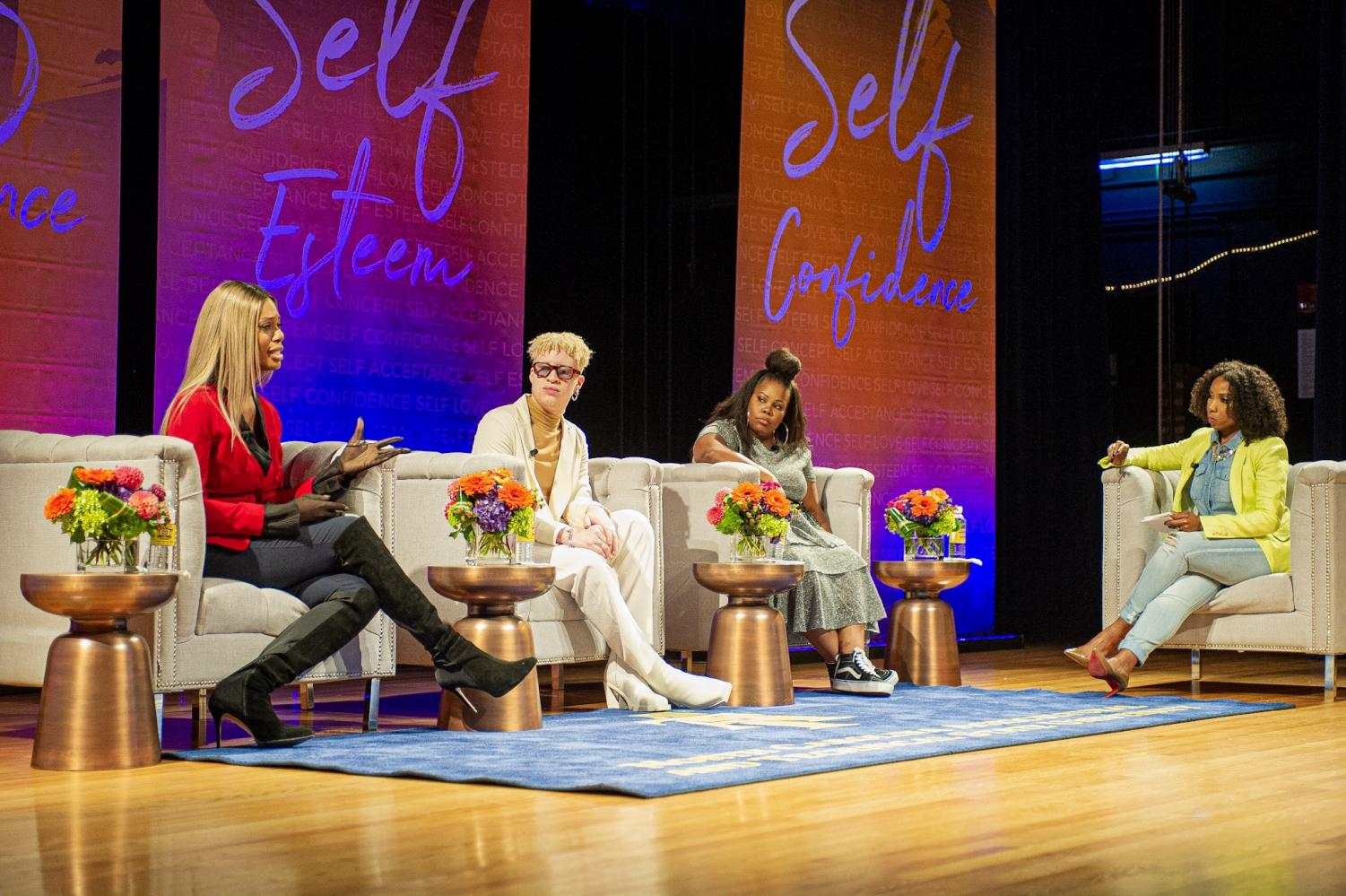 Cox, Ross and Riley discuss the process and principles of self-love.