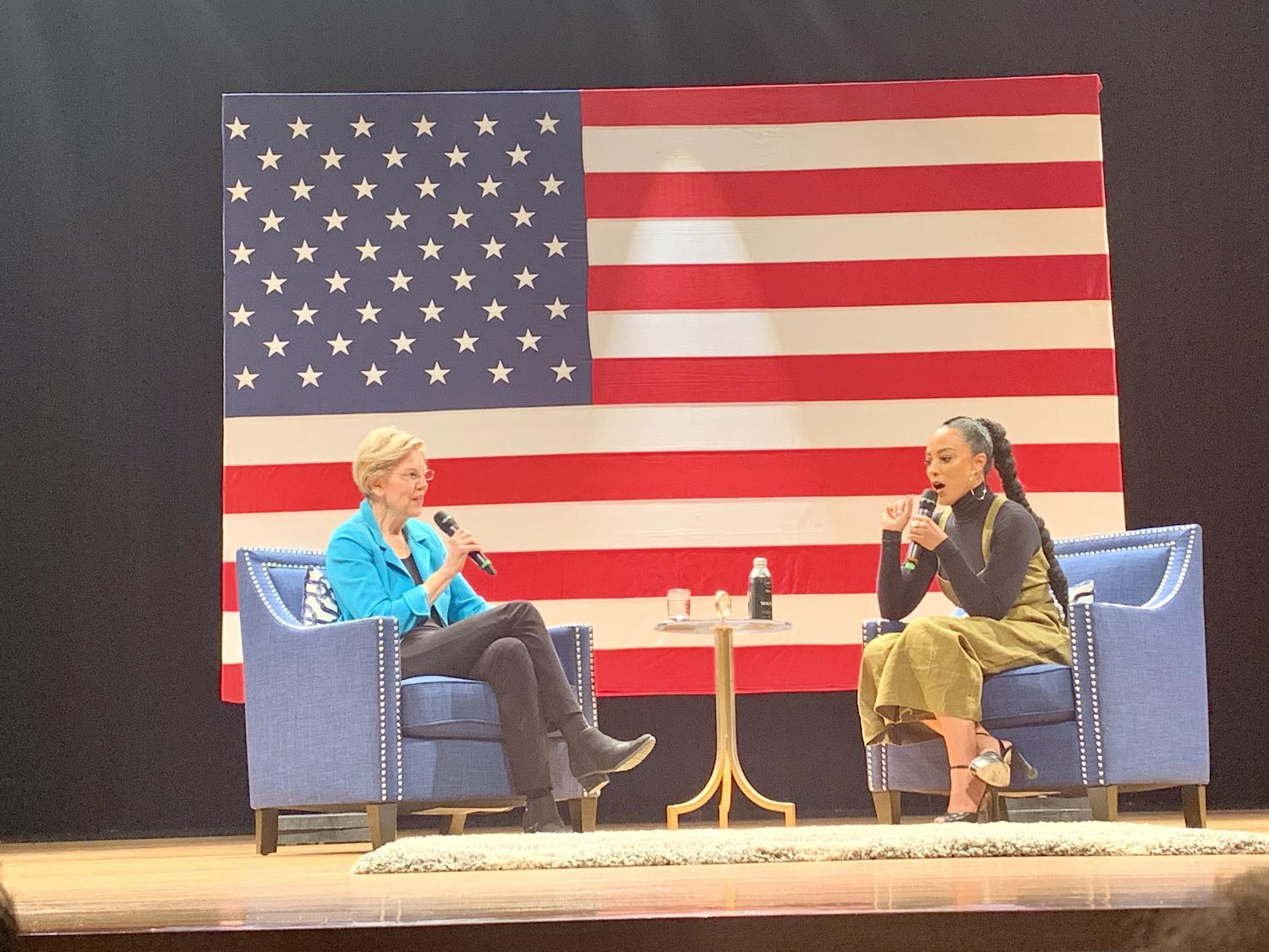 Rye and Warren discuss HBCUs