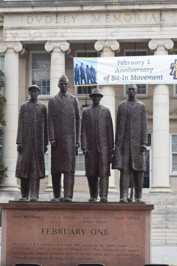 Feb. 1 North Carolina Agricultural & Technical State University Greensboro Four A&T Four Feb.1 Sit-In Movement