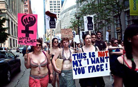 Protestors at 2011 SlutWalk in Chicago.