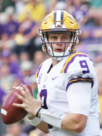 Joe Burrow, SELU vs LSU at Tiger Stadium, September 8th 2018, Tammy Anthony Baker, Photographer