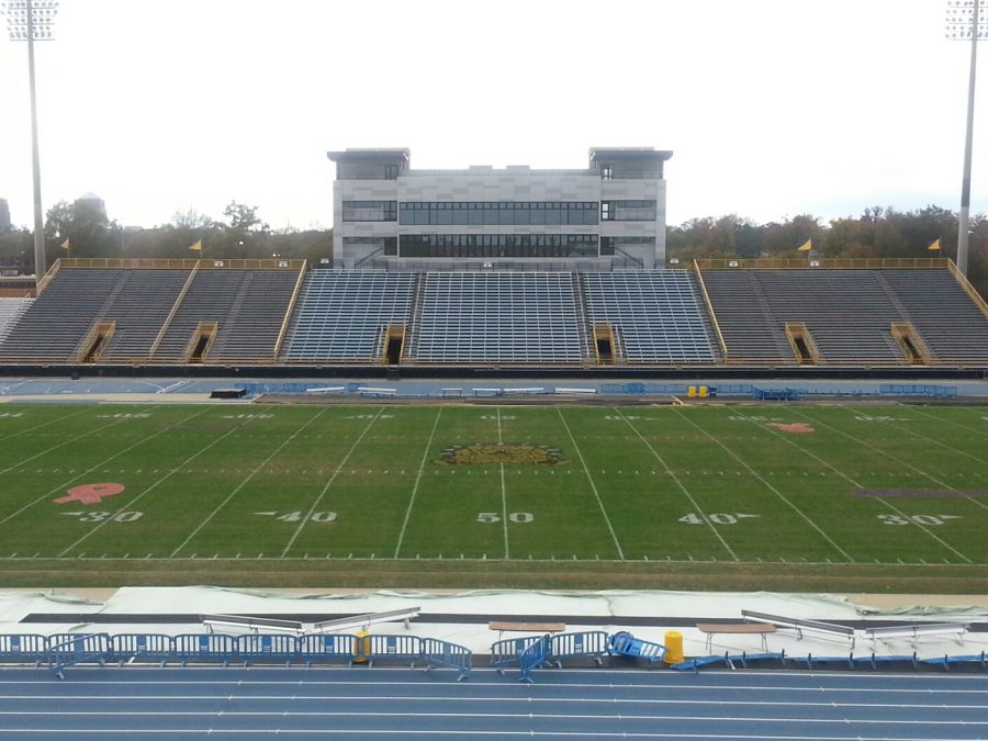 An inside look of Truist stadium, the home of the N.C. A&T State Aggies.