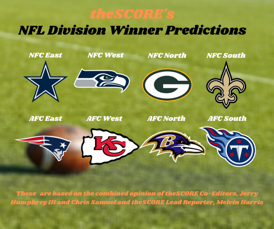 theSCORE's NFL division winner predictions
