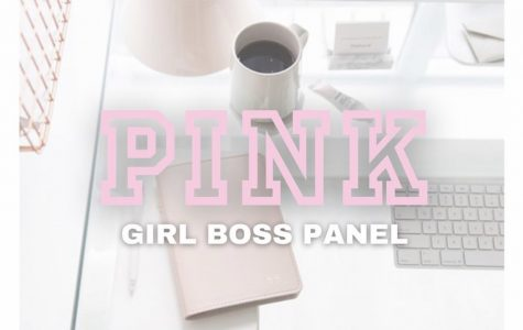 """""""Being a 'girl boss' is owning the space you're in."""" Photo Courtesy of VS Pink at North Carolina A&T on Instagram."""
