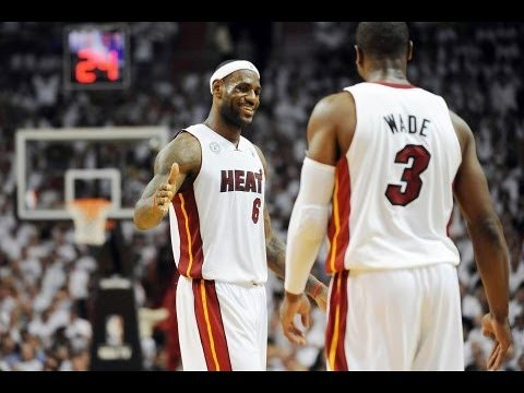 Wade and James won two NBA championships together as a part of the Miami Heat.
