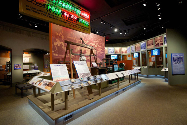 The Voices of a City exhibit at the Greensboro History Museum. Photo Courtesy of the museum.