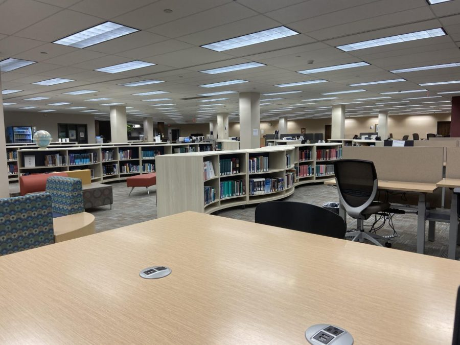 Bluford Library increase in resources and activities with $8 million cost avoidance