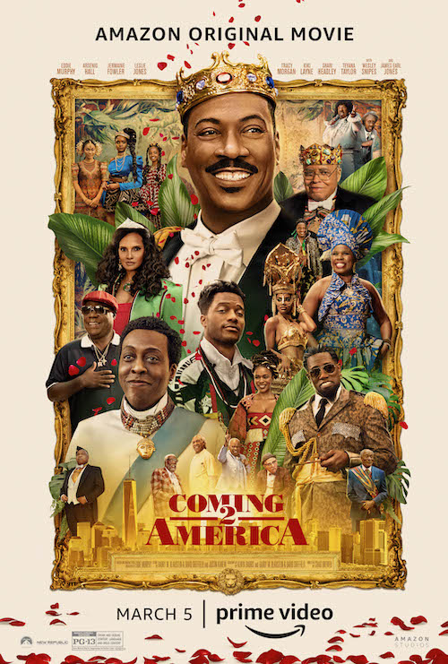 Coming 2 America is a 2021 American comedy film that serves as a sequel to the original 1988 film starring Eddie Murphy.
