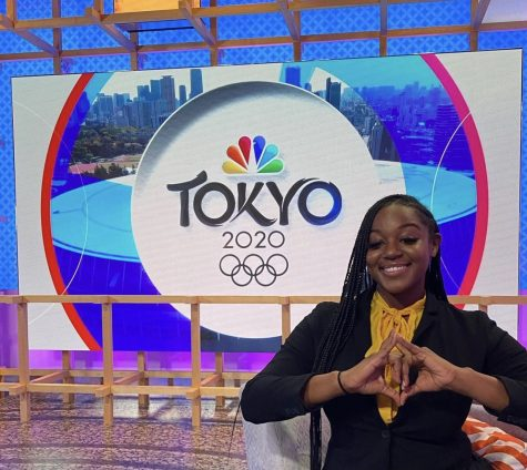 2020 Olympics N.C A&T East Dockery NBC Universal