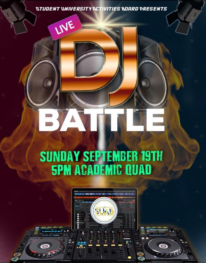 SUAB+host+DJ+Battle+in+the+Academic+Quad+for+Aggie+students