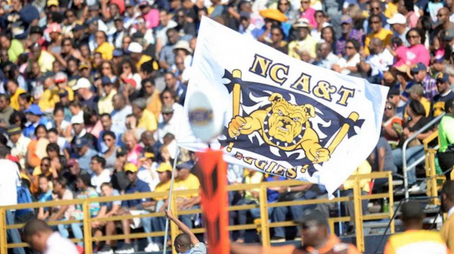 The+crowds+looking+at+the+2019+GHOE+Football+Game+