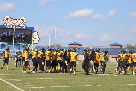N.C. A&T football looks to bounce back as they prepare to face Hampton