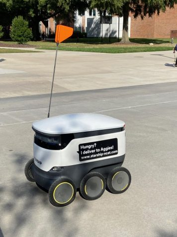 Food Delivery goes Robotic at N.C. A&T